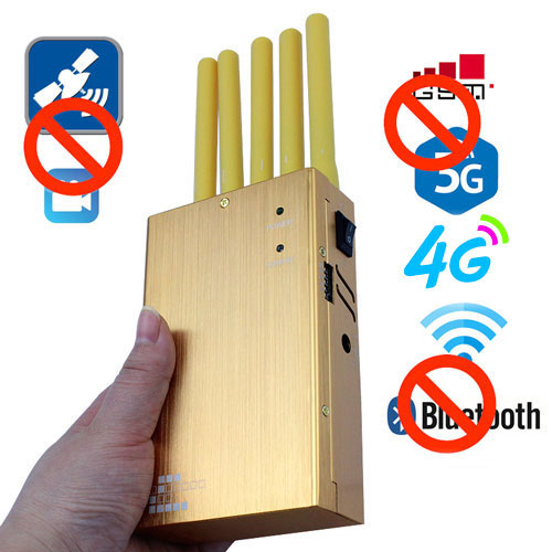 gold portable cell phone jammer