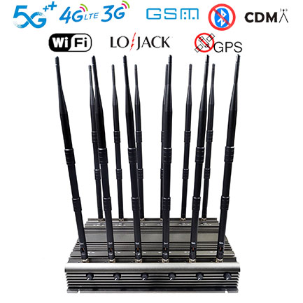 12 Antennas powerful Jammer
